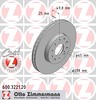 Zimmermann Front Disc - 600.3221.20