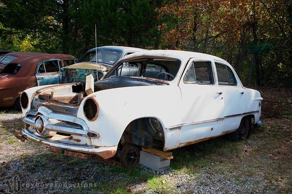 1949 Parts car in the boneyard.