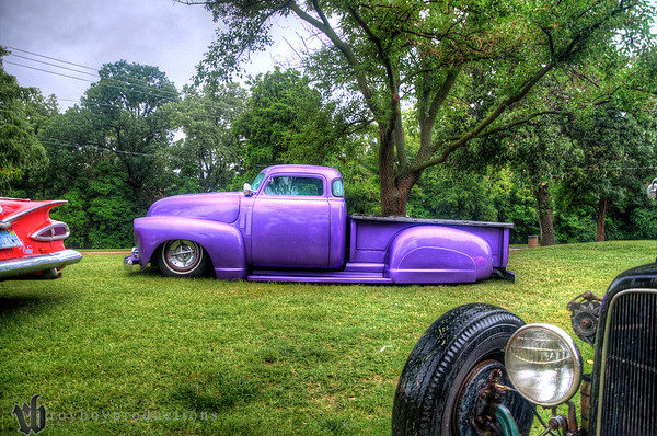 Jack Rudy's Chevy truck