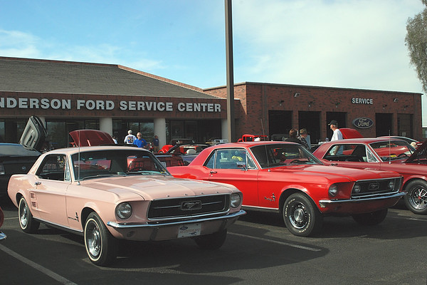 2014-03-22 Sanderson Ford Wild West Mustangs