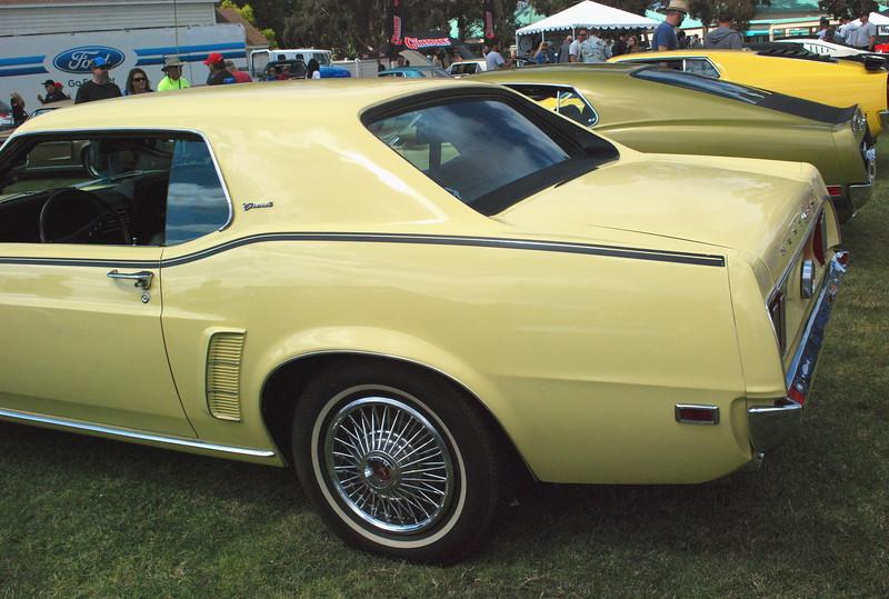 Ford 1969 Mustang Grande rr lf