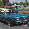 Mercury 1968 Cougar GT ft rt
