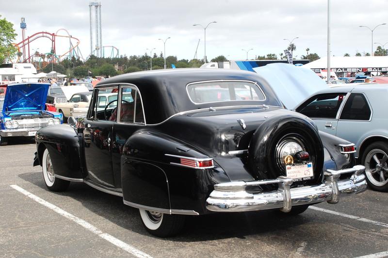 Lincoln 1947 Continental sedan rr lf