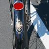Bianchi 1950 Aquilotto Sport 49cc rr fender logo