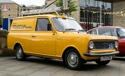 1982 Bedford HA 110 van