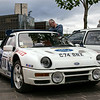 1986 Ford RS200 rally car