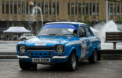1973 Escort 1.6 Mexico rally car