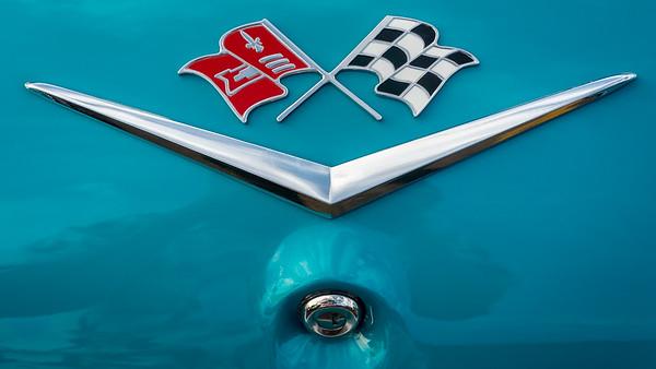 1960 Chevy Impala Badge