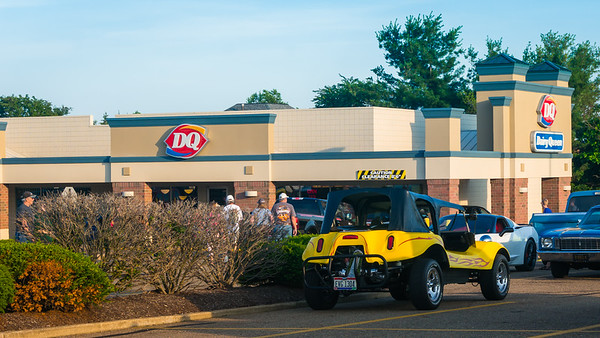 Friday Night Dairy Queen Car Show