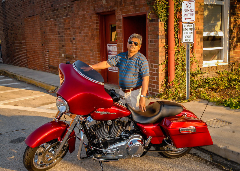 Jay and his Harley Find