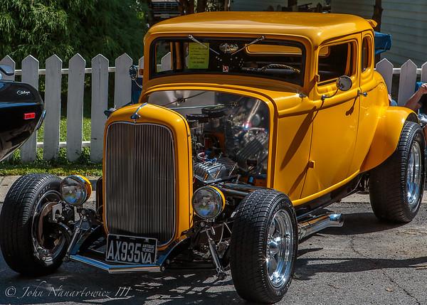 15th Annual Clifton, VA., Labor Day Car Show