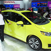 Lynne by new FIT at Honda.