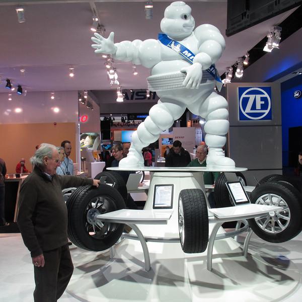 Michelin man...always photograph him.