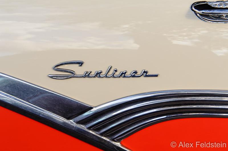 1956 Ford Fairline Sunliner