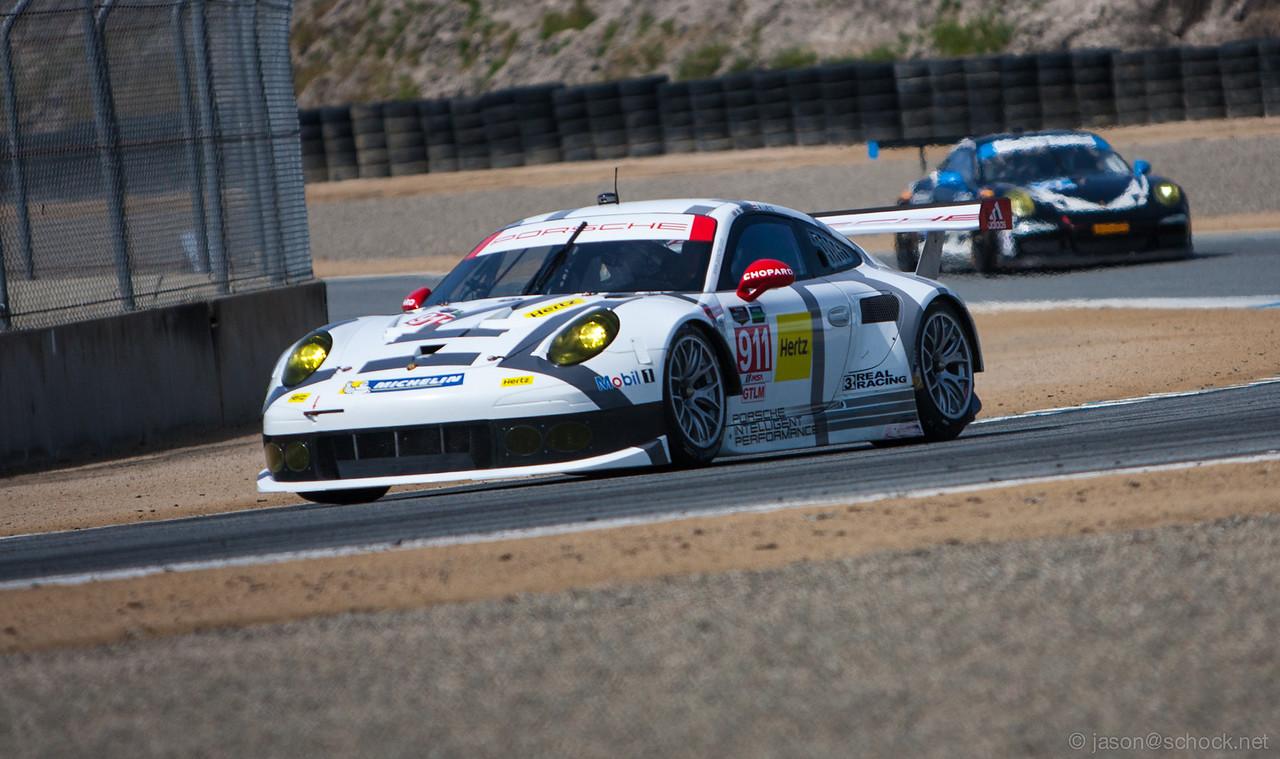Porsche North America Racing #912 Porsche 911 RSR.