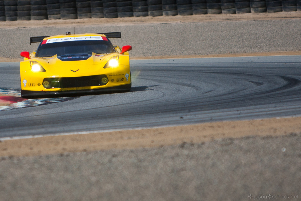 Corvette C7.R at Turn 3.