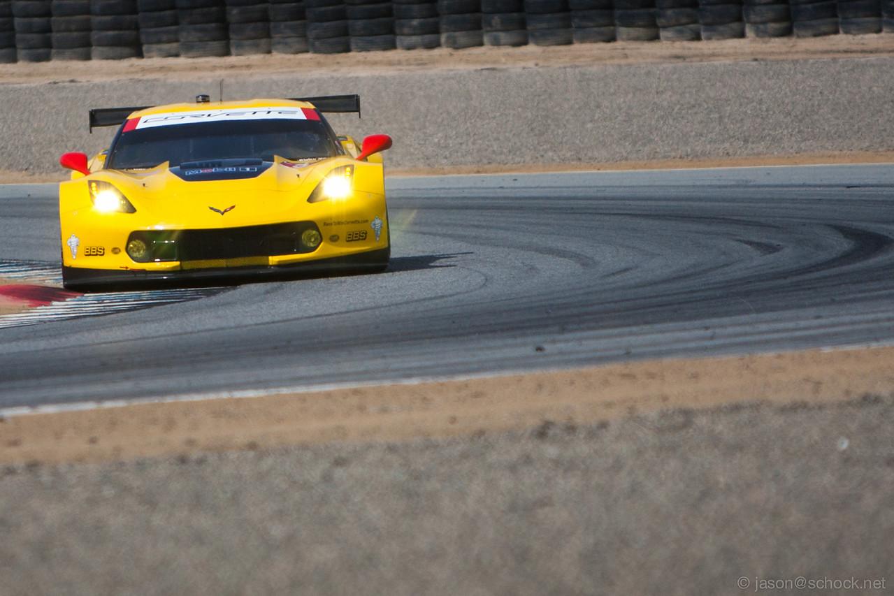 Corvette C7.R at Turn 3.