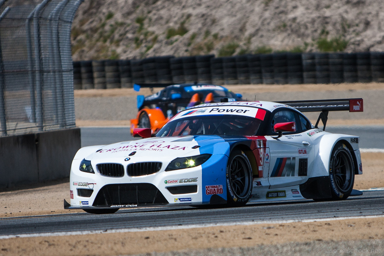 BMW Z4 GTE in white.