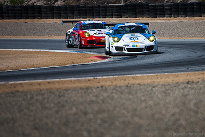 Muehlner Motorsport #18 Porsche 911 GT3 RS.