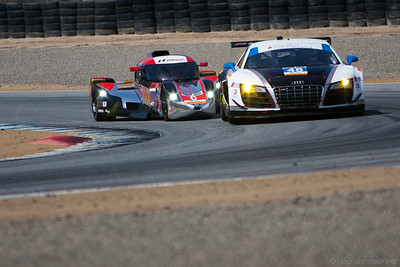 The Deltawing Prototype gets tight with the $48 Audi R8 GT.