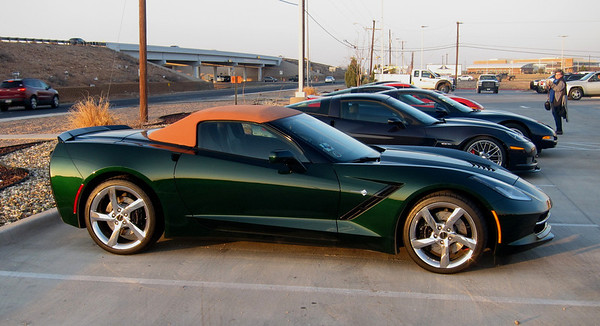 2014 Lime Rock Green Corvette