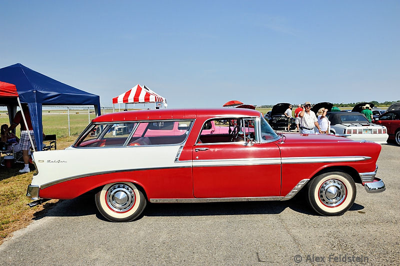 Chevy Bel-Air station wagon