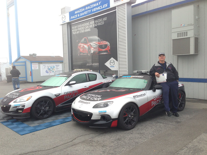 If not the RX-8, maybe we can get the MX-5 Pace Car out for a lap or two in the fog... I'm sure no one will notice.  :-)