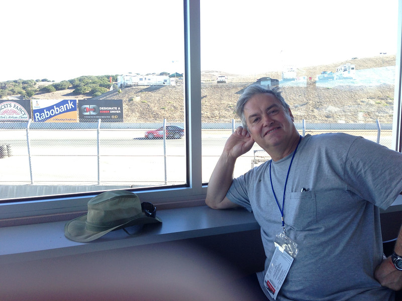 Premier Pit Row Suite with views of T10 - T1 (not including the monitors).