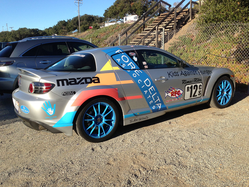 Arrived Mazda Raceway Laguna Seca to watch the 2014 SCCA National Runoff on qualifying Day 3, Thursday, October 9.