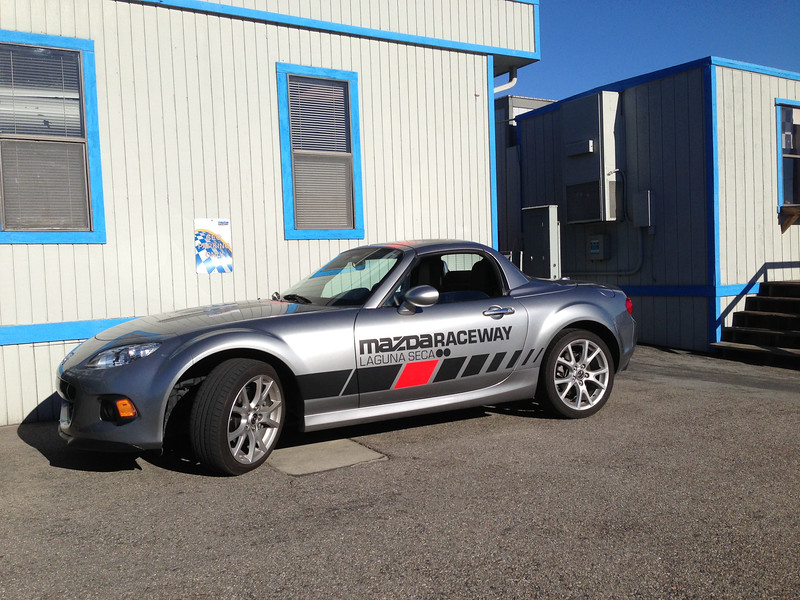 Mazda Raceway CEO parking.  [Like]