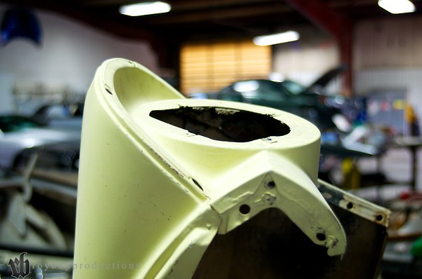 The 57 project front fender