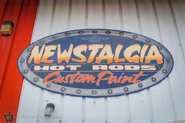 2014 Newstalgia Custom Paint Shop Visit