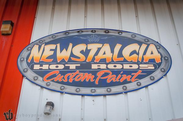 2014 Newstalgia Custom Paint Shop Visit