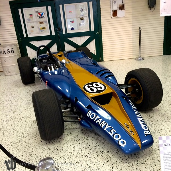 From touring the Indianapolis Motor Speedway Museum