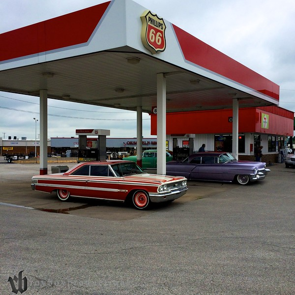 Gas fill up in Macon, MO