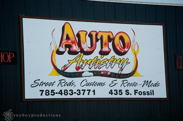 Auto Artistry Shop Visit 3-4-14