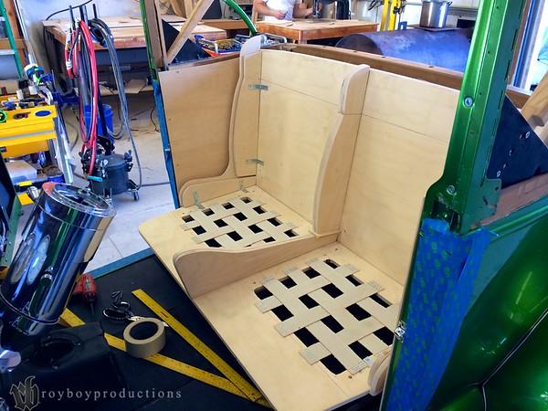 Fast AL's Upholstery Shop Visit 1-26-14