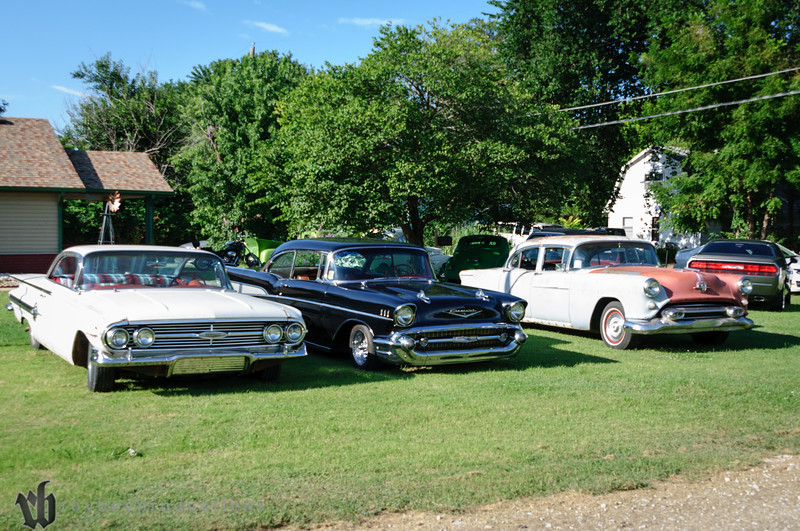 Lots of great rides show up to Rocky's pre-party each year before the KKOA.