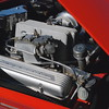 Chevrolet 1957 Corvette engine ft rt