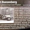 Duesenberg 1929 J #2125 01