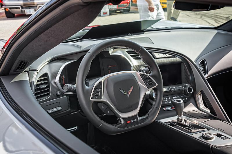 2016 Z06 Corvette Interior