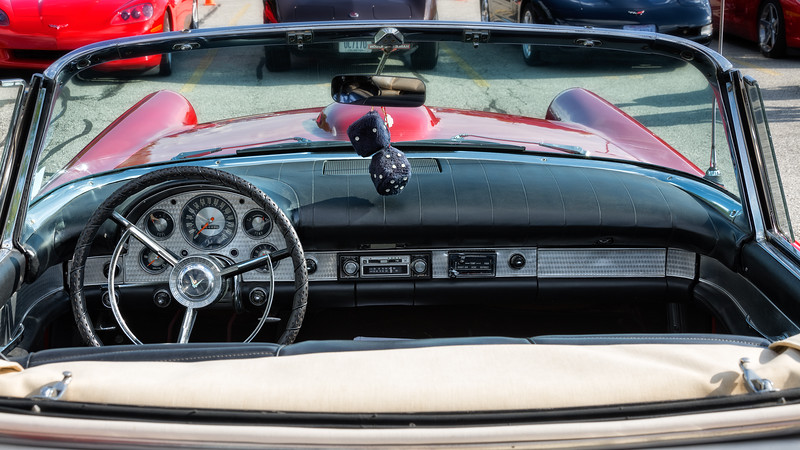 1957 Thunderbird Dashboard