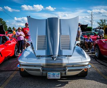 Retro 1963 Split Window Coupe