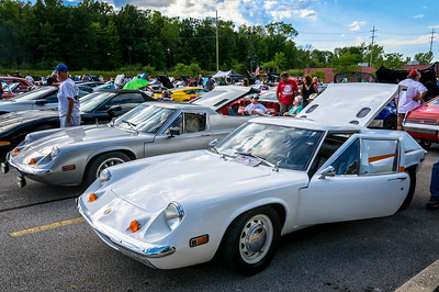 1974 and 1972 Lotus Europa