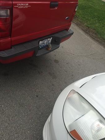 2015 Honda Fit wreck