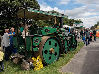 'Advance' Steam Roller