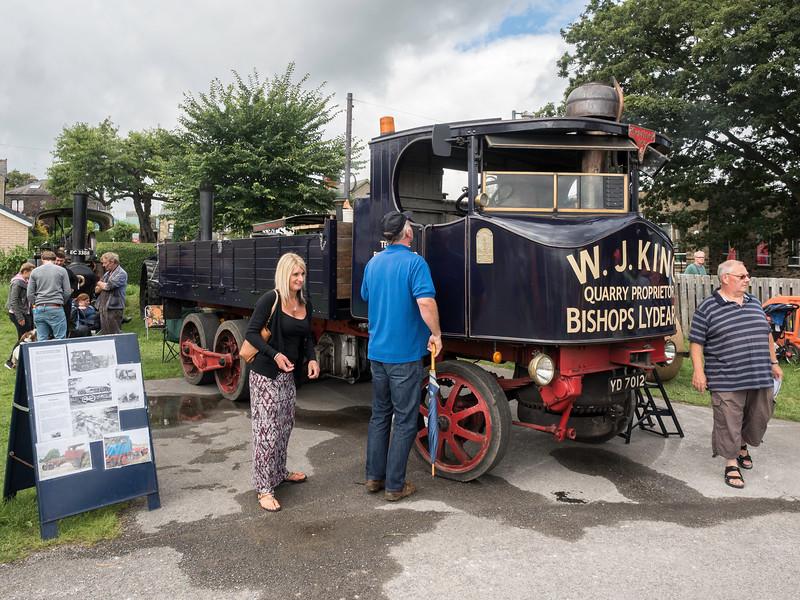 1933 Sentinel DG6 Steam Lorry