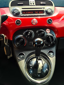 2015 Fiat 500 Dashboard