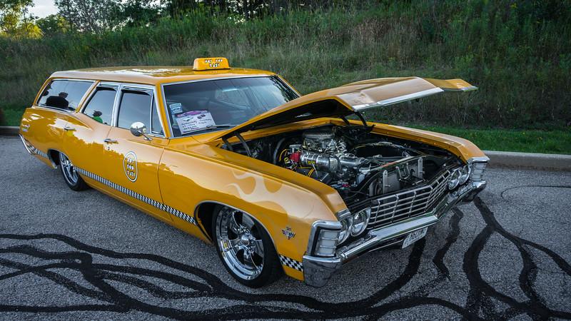 1967 Impala Wagon with Blower