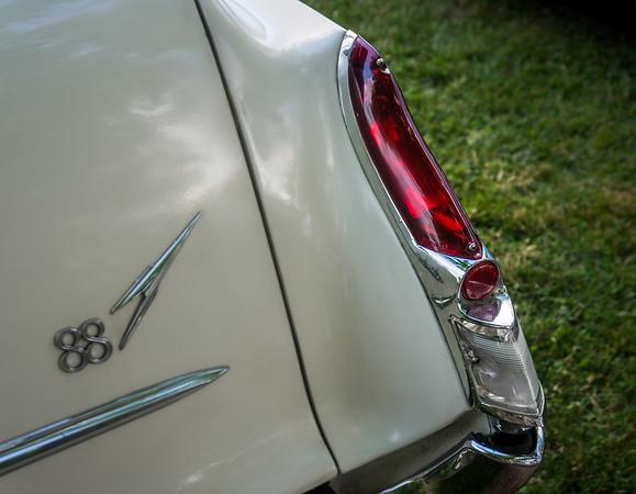 Tail Light of 1962 Olds Dynamic 88 Fiesta Wagon